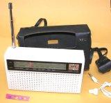 NEC NT-802 AM/SW(2バンド)  8石トランジスターラジオ 1976年式 【NEC純正黒革ケース付】