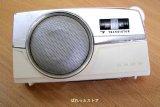 SONY MODEL:TR-725 7石トランジスターMW/SWラジオ1962年式【ホワイトカラー】