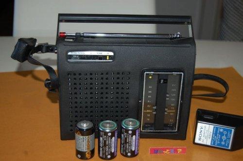 """追加の写真3: ソニー Model:TFM-6300B FM/AM コンパクトハンディー """"action""""ラジオ  1971年日本製・ACアダプター付"""