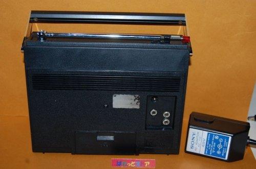 """追加の写真2: ソニー Model:TFM-6300B FM/AM コンパクトハンディー """"action""""ラジオ  1971年日本製・ACアダプター付"""