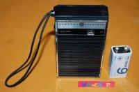 GE製Model-P2790 AM 6石ポケッタブルトランジスタラジオ受信機 1972年製