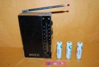 ソニー・TFM-4300 高感度 FM/中波 2バンド・ポケッタブルソリッドステート9(ナイン) 1965年製・