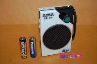 """【""""AIWA""""ではなく】AIMA Model IC-83 中波ラジオ受信機1983年・ホンコン製・日本のアイワの模造品"""