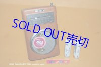 ソニー・ラジオ生産 40周年記念  Model No.ICF-TR40 ラジオ受信機 1995年製