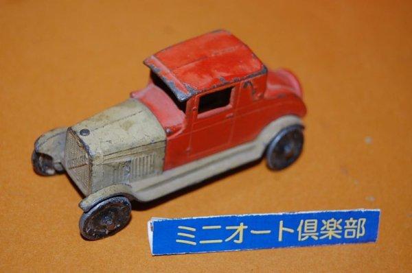 画像1: アメリカ・TOOTSIETOYS製 No.6202 GM Series/CHEVROLT COPUPE 1927年 昭和2年製造モデル