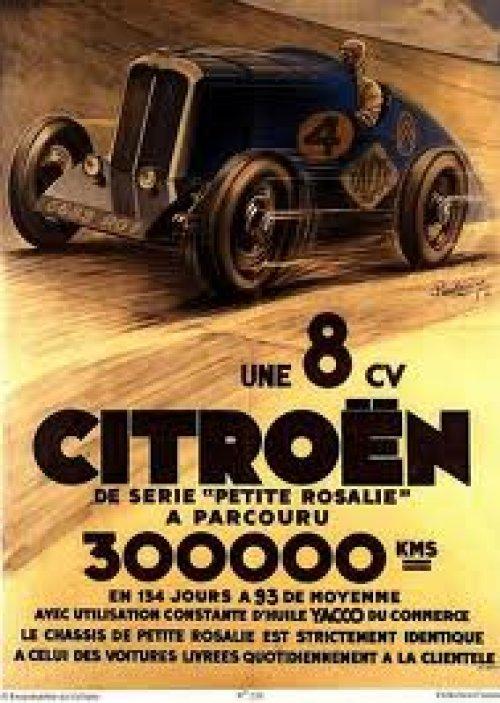 追加の写真3: フランス・シトロエン トイ Jouet CITROEN ROSALIE Record 1935年・実車メーカー製ミニカー・当時物