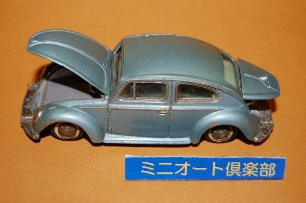 画像3: 米澤玩具 ダイヤペット No.D-165 Volkswagen Beetle1300・1967年当時物