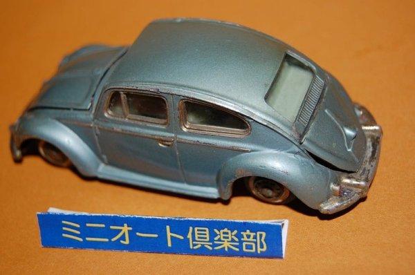 画像4: 米澤玩具 ダイヤペット No.D-165 Volkswagen Beetle1300・1967年当時物