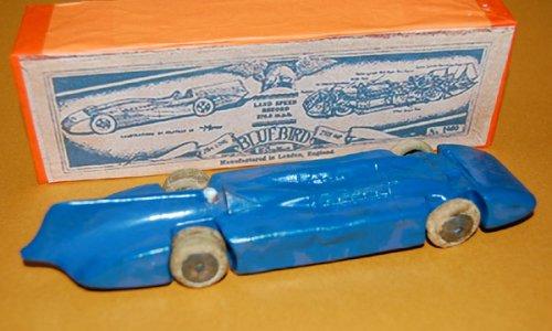 追加の写真1: 英国・BRITAIN(ブリテン)No.1400 Bluebird Record Car gas turbine-powered vehicle  【1936年発売品・当時もの】