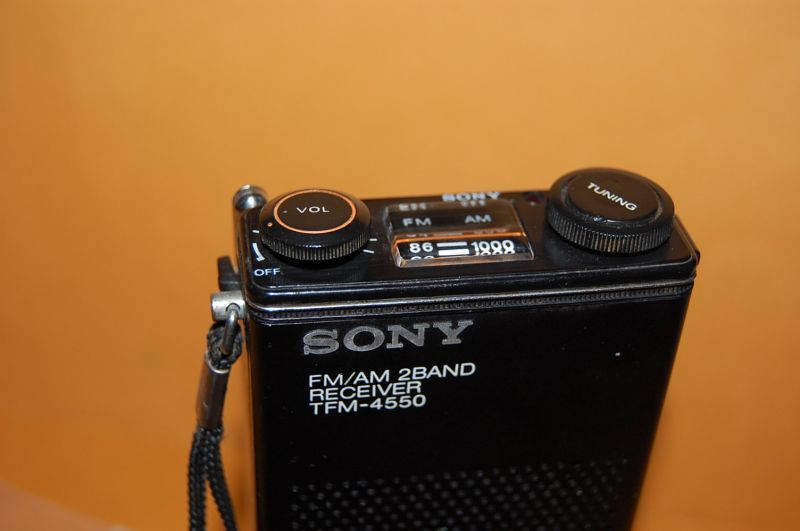 ソニー Model No.TFM-4550 FM/AM 2BAND RECEIVER 1978年式 【Junk・稼動不可】                                    [PU14SEP-028]